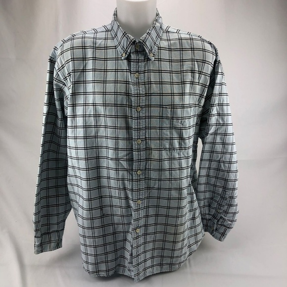 J. Crew Other - J.Crew Men's Shirt Button Up Blue White XL (M20)